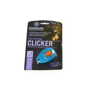 Starmark Pro-Training Clicker Türkis-Orange