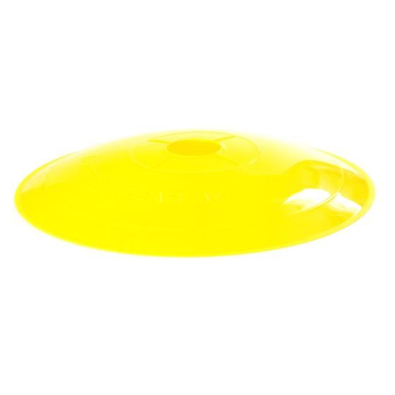 Fesselnd Flache Markierteller, 20cm Durchmesser, Farbe Gelb