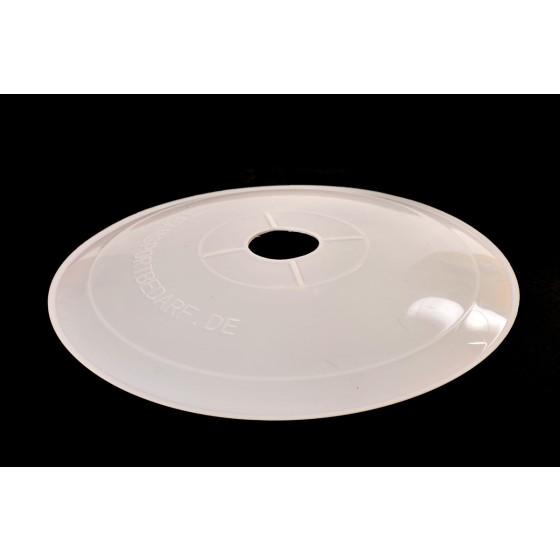 Schön Flache Markierteller, 20cm Durchmesser, Farbe Weiß