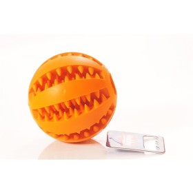 Dental-Ball, Vollgummi, 7,5 cm Durchmesser orange