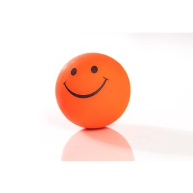 Smilley-Moosgummiball, 72mm, neonorange