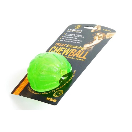Treat Dispensing Chew-Ball, Starmark, Größe:  10 cm (L)